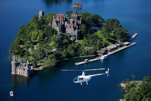 Aerial Views and Seaway Hues – 1000 Islands Helicopter Tours (Ontario)
