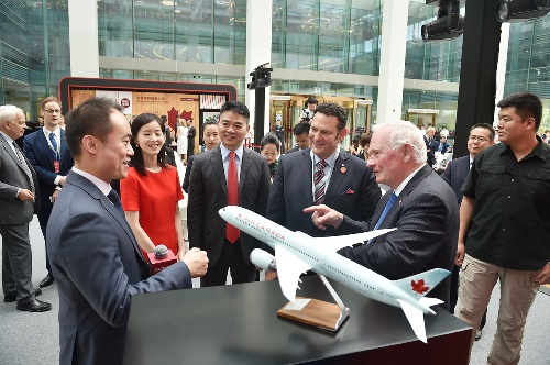 Destination Canada joins the Governor General's delegation to China