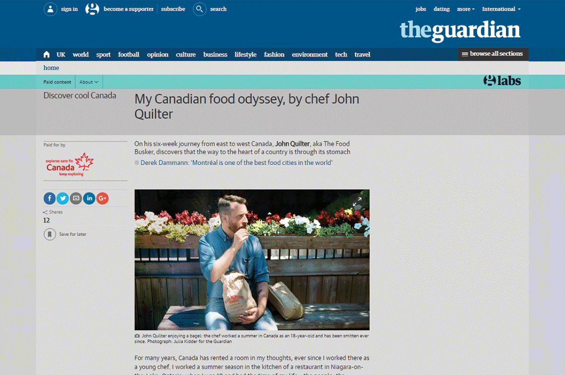 The Guardian - Discover Cool Canada